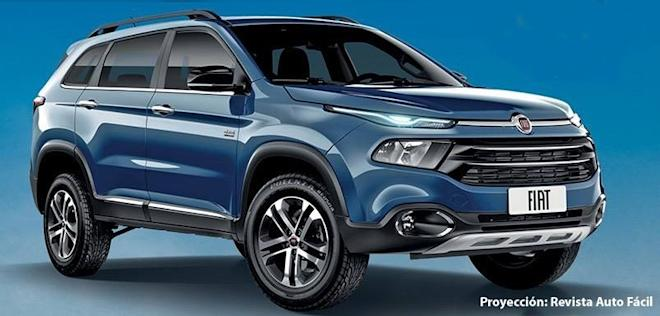 Jeep Compass based SUV, Fiat Toro SUV