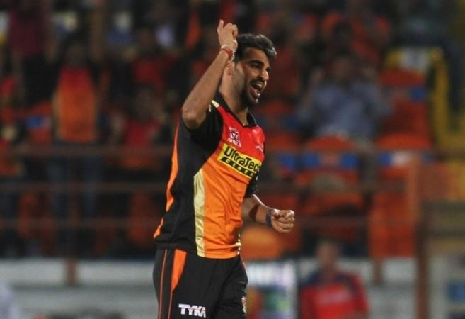 Bhuvneshwar Kumar, Sunrisers Hyderabad, Kings XI Punjab, purple cap, IPL 2017
