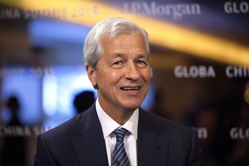 Dimon Lays Out 100-Year China Vision With Trade Spat on Horizon