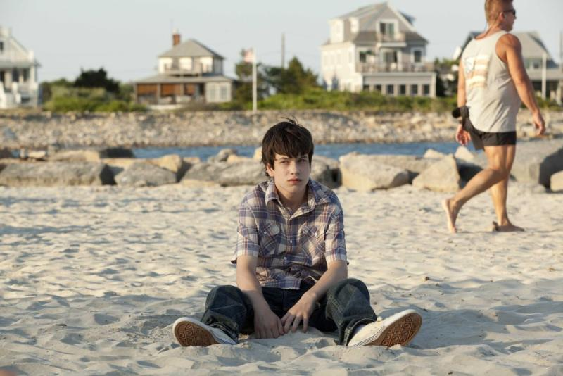 """This film publicity image released by Fox Searchlight shows Liam James in a scene from """"The Way Way Back."""" (AP Photo/Fox Searchlight, Claire Folger)"""
