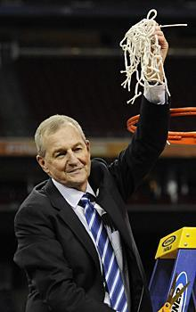 Jim Calhoun and UConn brought the national championship trophy home to the Big East