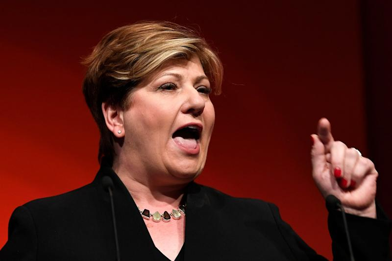 Shadow Foreign Secretary Emily Thornberry (EPA)