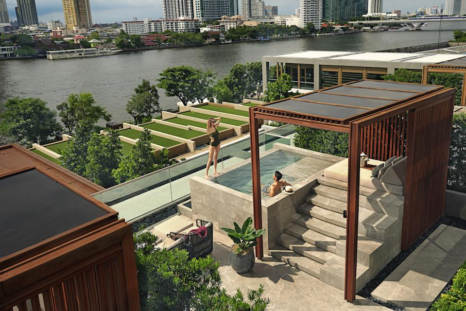 Verandah. (PHOTO: Capella Bangkok)