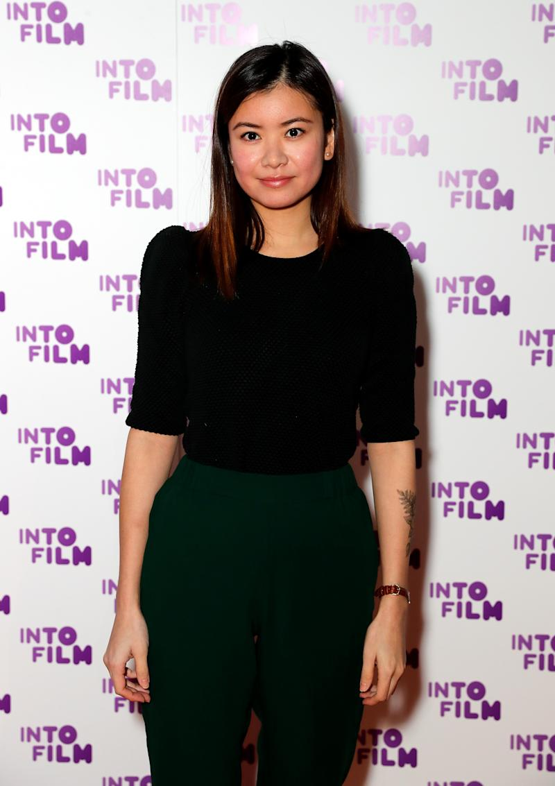 Katie Leung attends the INTO Film Awards at BFI Southbank on March 13, 2018 in London, England.