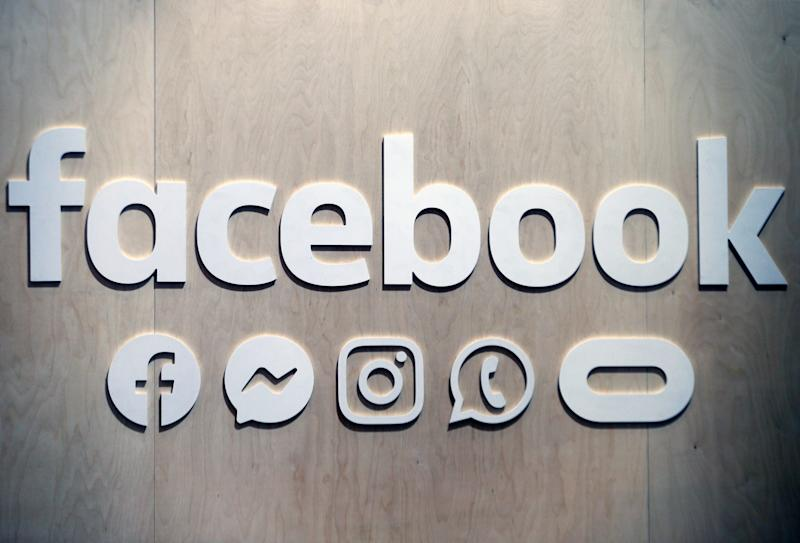 PARIS, FRANCE - MAY 16: The Facebook social media logo is displayed during the 4th edition of the Viva Technology show at Parc des Expositions Porte de Versailles on May 16, 2019 in Paris, France. Viva Technology, the new international event brings together 9000 startups with top investors, companies to grow businesses and all players in the digital transformation who shape the future of the internet. (Photo by Chesnot/Getty Images)