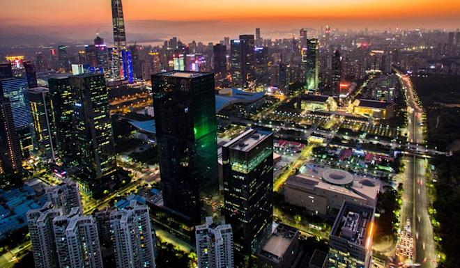 The study says home prices in Shenzhen have shot out of reach of most people. Photo: Xinhua
