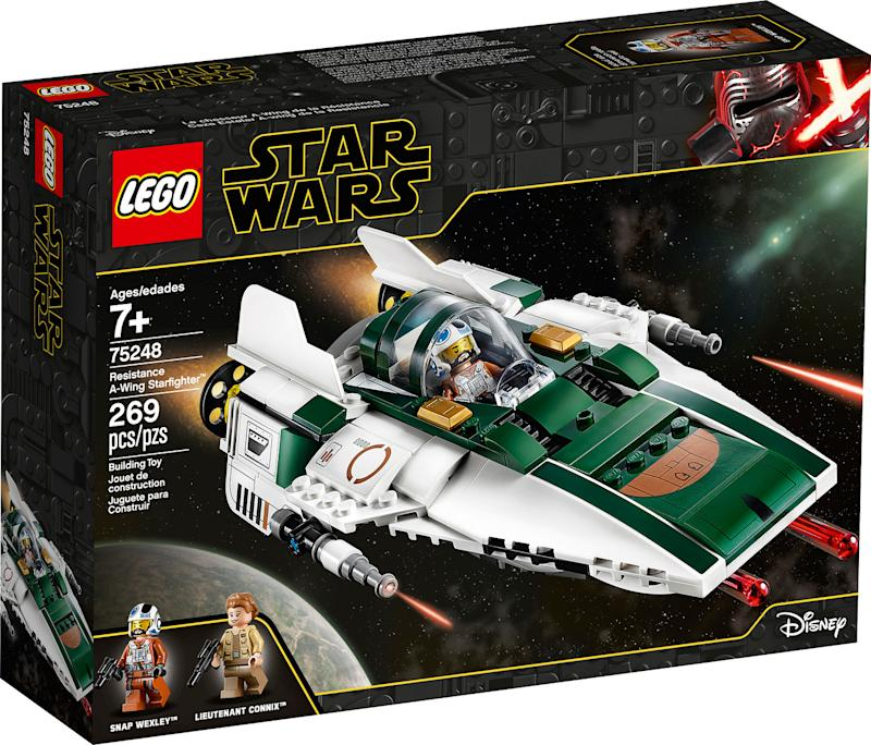 Resistance A-Wing Starfighter (Photo: Lego)