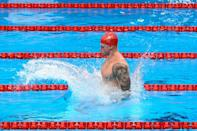 Britain's Adam Peaty is hoping to make a splash in the pool in Tokyo