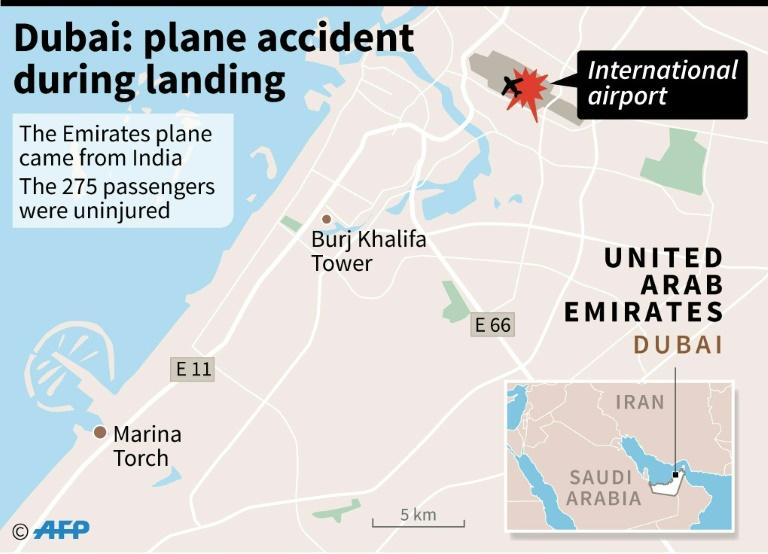 Emirates plane accident