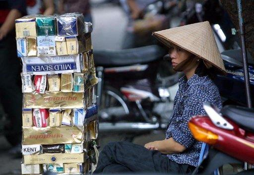 Tobacco kills 40,000 people per year in Vietnam and that figure is expected to rise to 70,000 per year by 2030