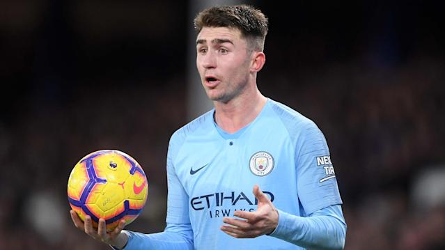 Aymeric Laporte Man City 2018-19
