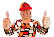Titririca, a clown who was elected to Congress, gives a thumbs up in a photo released by his campaign in 2010