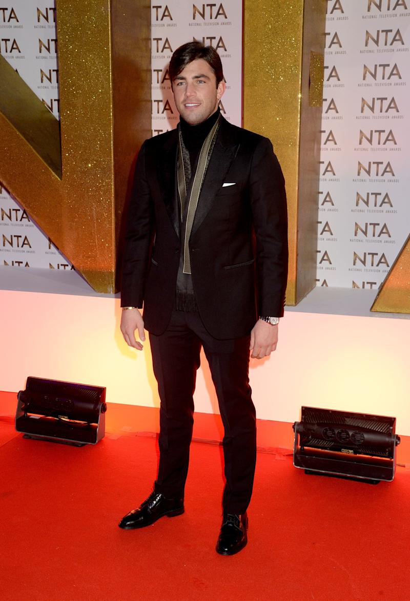LONDON, ENGLAND - JANUARY 28: Jack Fincham attends the National Television Awards 2020 at The O2 Arena on January 28, 2020 in London, England. (Photo by Dave J Hogan/Getty Images)