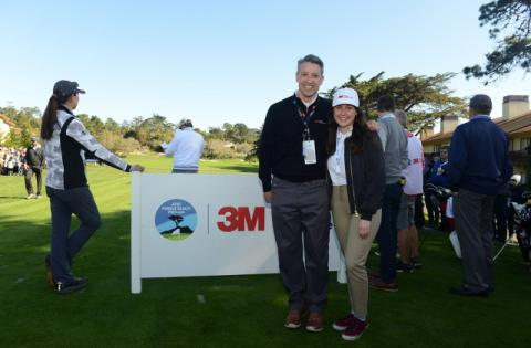 3M Gives Back through Celebrity Challenge at AT&T Pebble Beach Pro-Am: Students and Charities Win