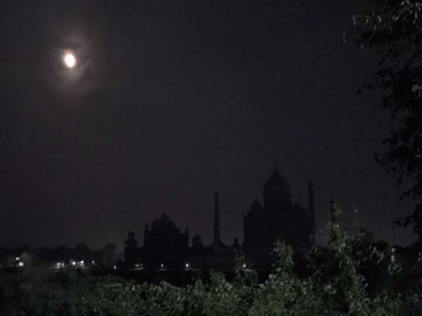 Taj Mahal re-opens for night viewing after 1.5 years. [Photo/ANI]