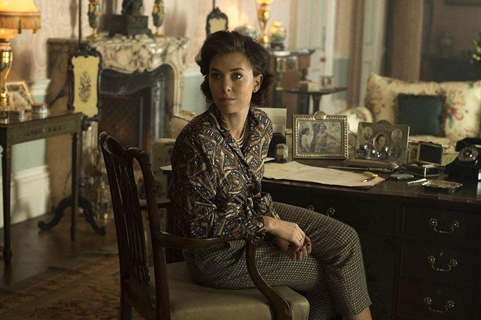<p>Vanessa Kirby played the Queen's younger sister for the first two seasons of The Crown, with one of her main storylines focussing on her decision not to marry Group Captain Peter Townsend (Ben Miles) because he had been married before. </p>