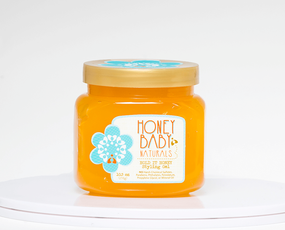 """<h3>Honey Baby Naturals</h3><br>When Aisha Ceballos-Crump felt like her six-figure job wasn't fulfilling her mentally, the Puerto Rican entrepreneur took all of her savings and 401k and put it towards launching a skin and hair-care line inspired by her grandmother's use of honey. The brand, Honey Baby Naturals, features an array of products that can be found at several mass retailers, including Target and Sally Beauty.<br><br><strong>Honey Baby Naturals</strong> Hold It Honey Styling Gel, $, available at <a href=""""https://go.skimresources.com/?id=30283X879131&url=https%3A%2F%2Fwww.honeybabynaturals.com%2Fproduct-page%2Fhold-it-honey-styling-gel"""" rel=""""nofollow noopener"""" target=""""_blank"""" data-ylk=""""slk:Honey Baby Naturals"""" class=""""link rapid-noclick-resp"""">Honey Baby Naturals</a>"""