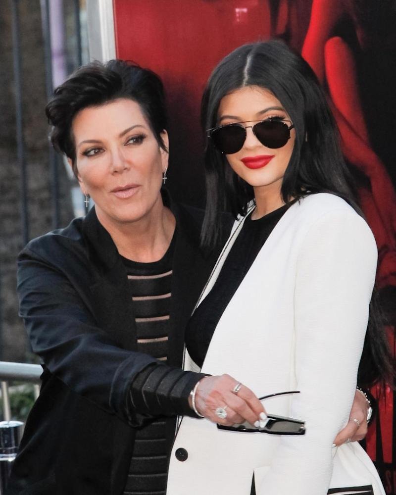 Kris Jenner has expressed her worry for Kylie's