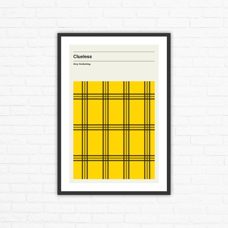 <p>For the friend who's always rollin' with the homies, give them this <span><b>Clueless</b> Minimalist Movie Poster</span> ($25). </p>