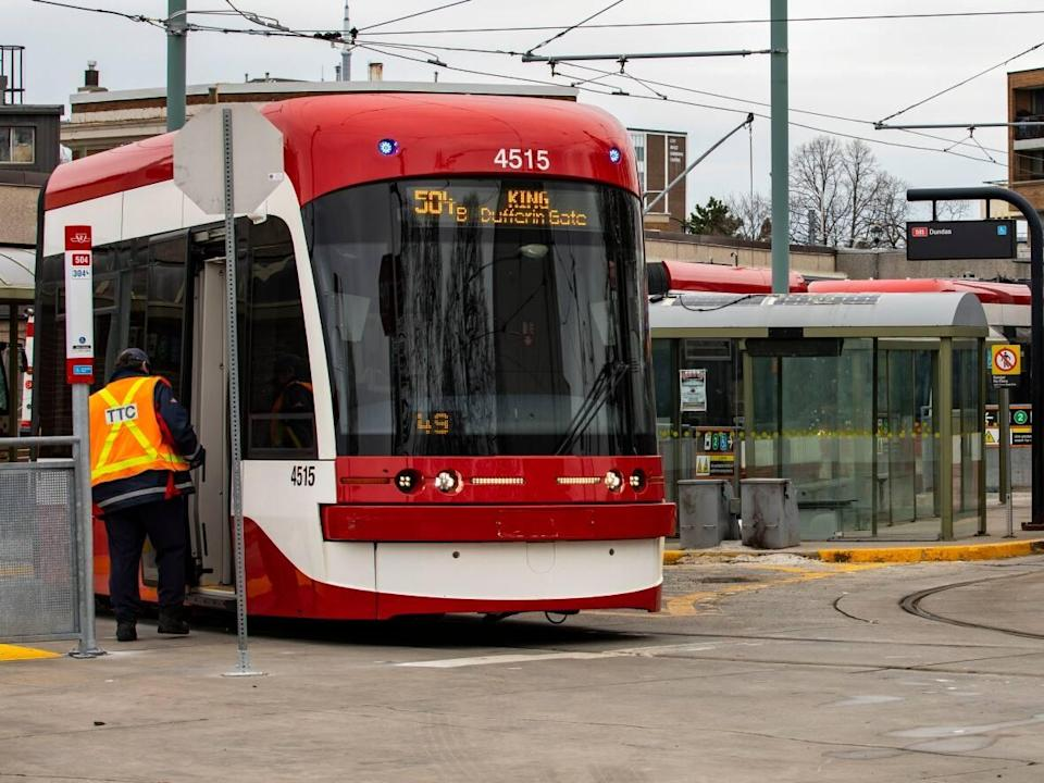 By Oct. 30,all TTC employees, including trainees and contractors who work for the transit agency,must have two doses of an approved COVID-19 vaccine. All employees were requiredto disclose their vaccination status to management by Oct. 6. (Michael Wilson/CBC - image credit)
