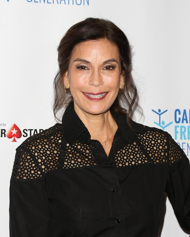 Teri Hatcher's last public appearance in the U.S. was at the 4th annual Ante Up for a Cancer-Free Generation Poker Tournament and Casino Night in June. (Photo: Paul Archuleta/Getty Images)