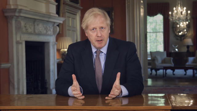 Boris Johnson has announced plans to change lockdown rules. (AP)