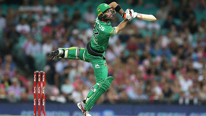 Glenn Maxwell, pictured here batting for Melbourne Stars in the Big Bash.