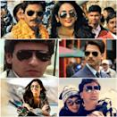 The classic gold-rimmed aviators became a staple piece in the Eighties and have since dominated Bollywood's fashion scene thanks to the cool and edgy charm they exude. Stills from Gangs of Wasseypur (2012), Jurrat (1989), Mausam (2011), Jab Tak Hai Jaan (2012) and Chandni (1989).