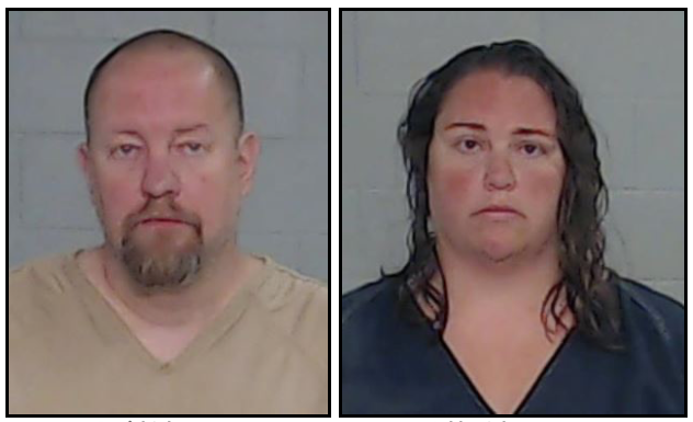Daniel and Ashley Schwarz were arrested and charged with murder over the death  of Jaylin Anne SchwarzCity of Odessa Police