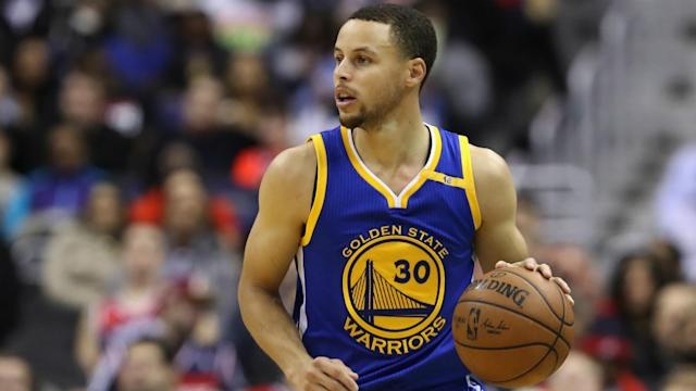 Golden State extended their winning streak to eight games and celebrated victory number 60 for the season after beating the Rockets 113-106.