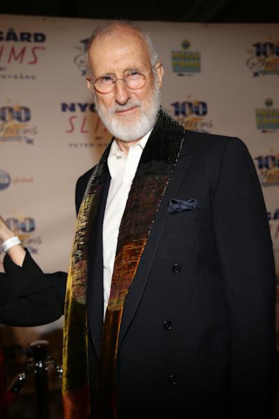 "FILE - In this March 2, 2014 file photo, James Cromwell arrives at the 24th Night of 100 Stars Oscars Viewing Gala at The Beverly Hills Hotel in Beverly Hills, Calif. Cromwell will receive a lifetime achievement award from the Humane Society of the United States on Saturday, March 29, 2014, in Beverly Hills, Calif. ""He's been a friend to the HSUS and to animals for decades. He is somebody who has used his fame and platform for farm animal protection, animals used and abused in labs, horses who are used for horse racing, you name it, if an animal is in trouble, he is there,"" said Michelle Cho of the HSUS. (Photo by Annie I. Bang /Invision/AP, file)"