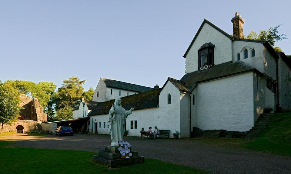 Capel y Ffin Monastery in the Black Mts of mid wales