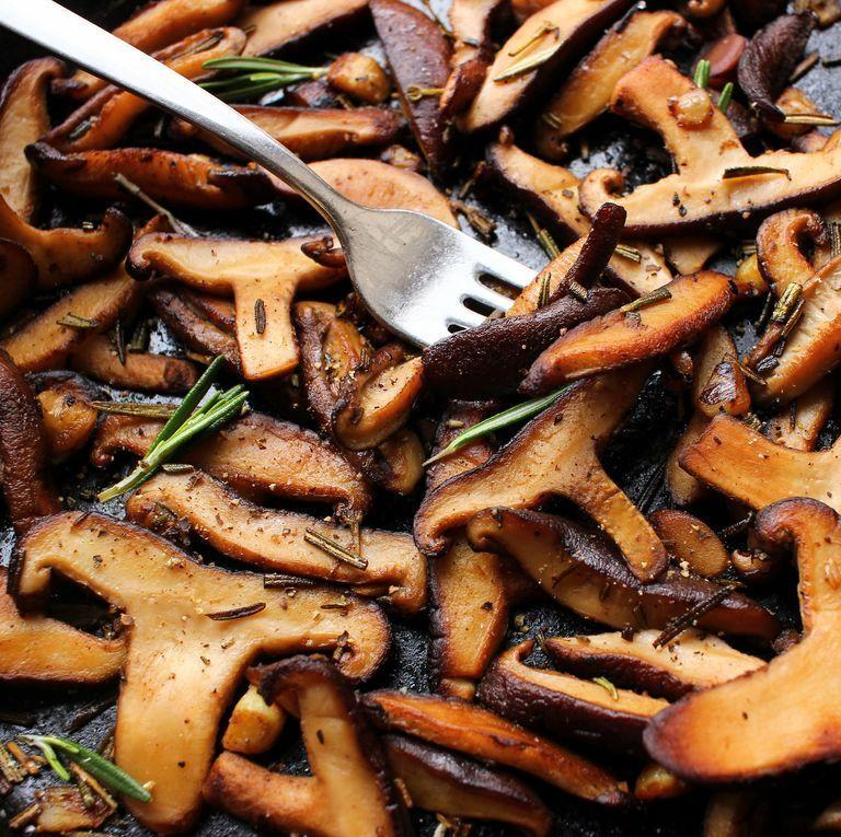 """<p>Mushrooms are one of those magical ingredients where you can do anything to them and they'll still come out delicious in the end, even if you're just sautéing them... </p><p>Get the <a href=""""https://www.delish.com/uk/cooking/recipes/a34504033/sauteed-mushrooms-recipe/"""" rel=""""nofollow noopener"""" target=""""_blank"""" data-ylk=""""slk:Sautéed Mushrooms"""" class=""""link rapid-noclick-resp"""">Sautéed Mushrooms</a> recipe.</p>"""