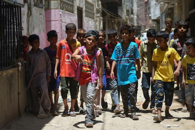 The rise of hip hop in Lyari mirrors the genre's own birth decades ago in New York's Bronx borough, where it largely centred around street performances and featured lyrics that addressed social ills and life in urban ghettos (AFP Photo/RIZWAN TABASSUM)