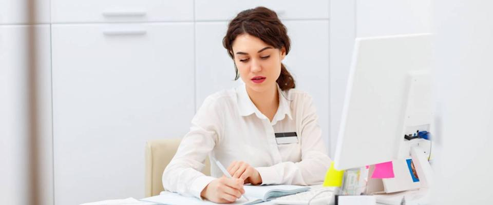 Medical coders may work independently or in offices