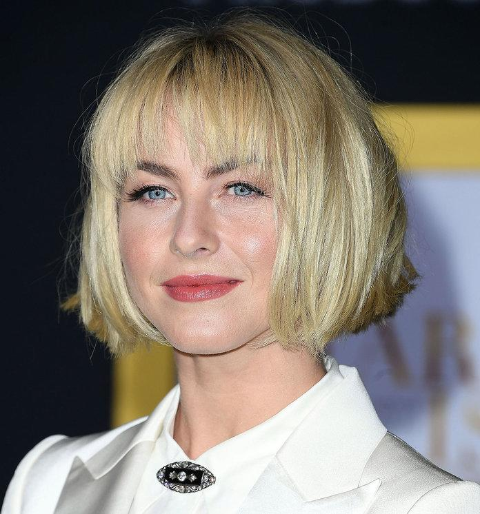 Julianne Houghs Dramatic New Haircut Makes Her Almost Unrecognizable