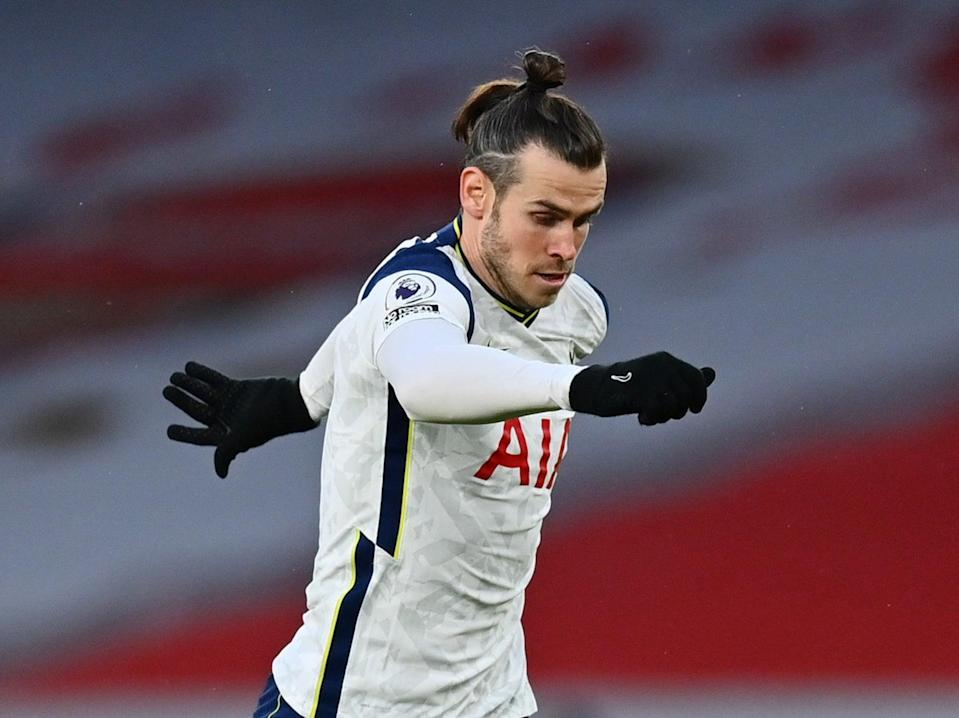 Gareth Bale in action for Tottenham this season (Getty Images)