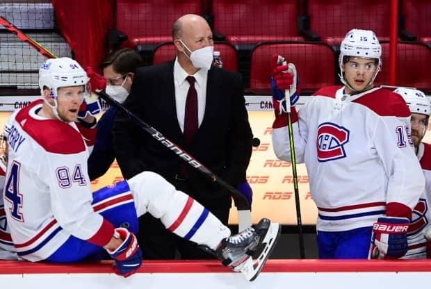 The Montreal Canadiens have fired head coach Claude Julien, who held the role since 2017. (Sean Kilpatrick/The Canadian Press - image credit)