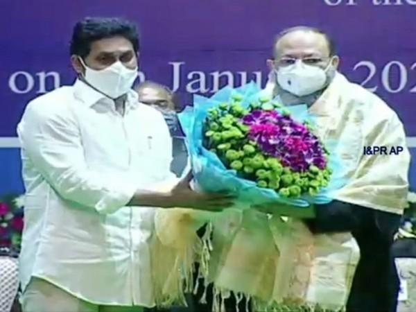 Arup Kumar Goswami sworn in as new Chief Justice of Andhra Pradesh High Court