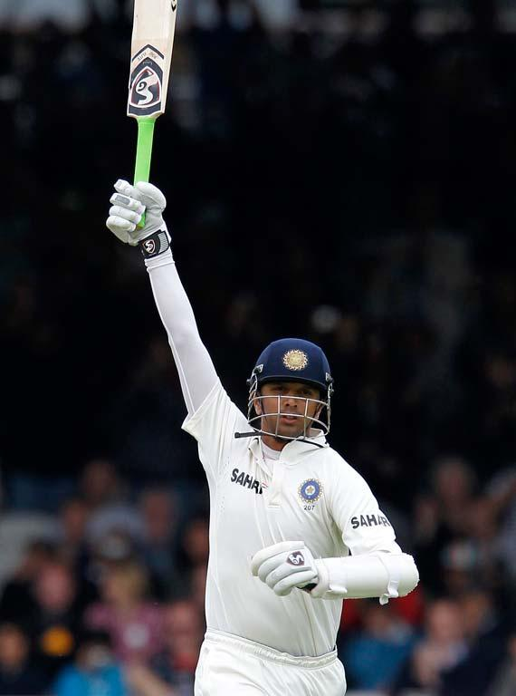 <p>Dravid was the highest scorer in Test cricket in 2011 with a total of 1145 runs at an average over 57. That was the third time he has scored over 1000 Test runs in a calendar year. </p>