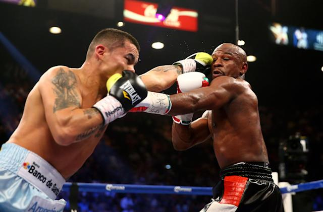 Floyd Mayweather announces rematch with Marcos Maidana on Sept. 13
