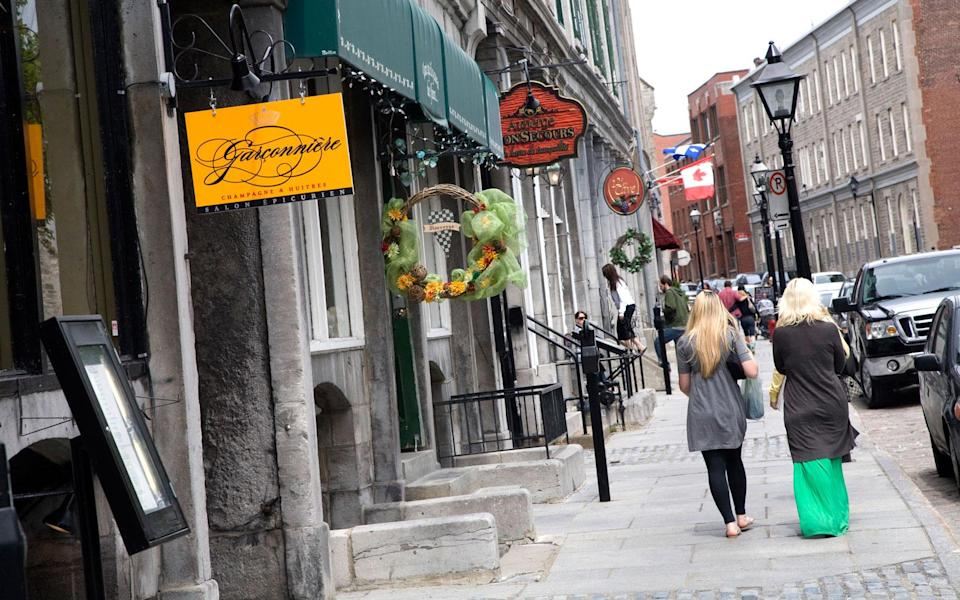 <p>The heart of Old Montreal runs along Rue Saint-Paul, the city's oldest street. The charming road is paved in cobblestones and lined with historic buildings, giving those who find themselves out for a stroll a blast into the past. The street has an inviting mix of old and new with the Pointe-à-Callière Museum, Bonsecours Market, and Notre-Dame Basilica, sitting alongside upscale boutiques and inviting coffee shops, galleries, and cafes.</p>