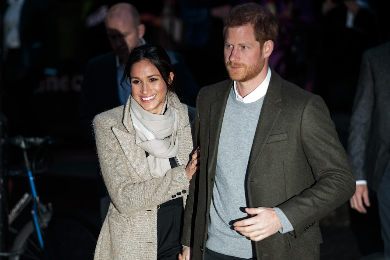 "<p>In public, Meghan often reaches for Harry's hand, and holds on to his arm, a sign that she is seeking his reassurance. ""It's a way to pull him closer to her,"" Cobb says. ""You feel secure, safe, treasured when you're emotionally and physically close to the one who holds your heart."" The holding on to Harry signals some unease, but doesn't signal a problem with the relationship <a rel=""nofollow"" href=""http://Constantine"">according to</a> expert Susan Constantine. ""I don't see anything negative going on between them. It's just that he's more reserved, she's more insecure, [and the fact that] she grabs on to him feels a little insecure,"" says Constantine. ""She feels more surreal about the experience; it's just another day in business for him. I think he's very proud to have her on his shoulder — it's like a trophy wife to him. She doesn't know what to think about it yet."" </p>"