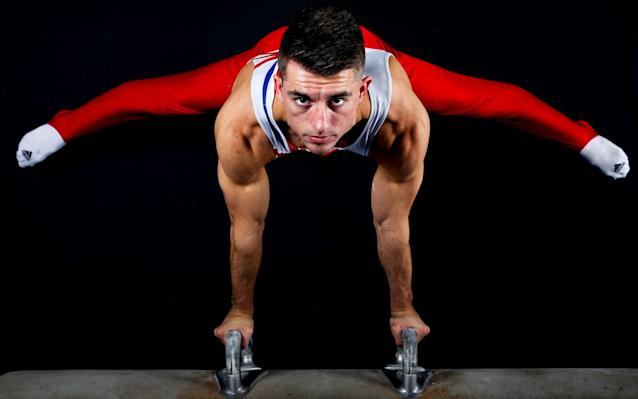 Max Whitlock competes at the World Championships this week - PA