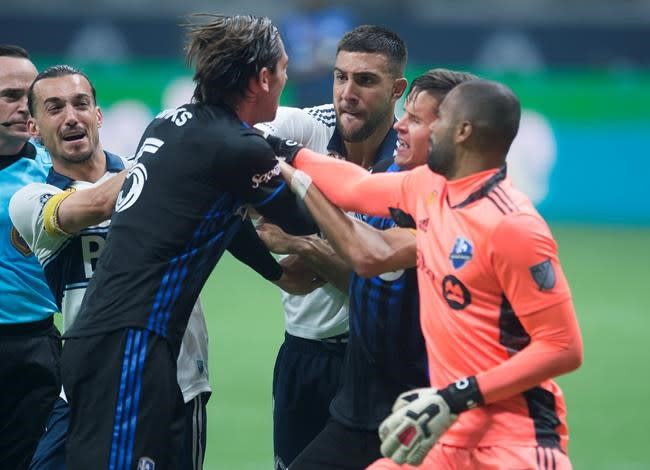Cavallini fined, Maciel suspended for actions in Whitecaps-Impact battle