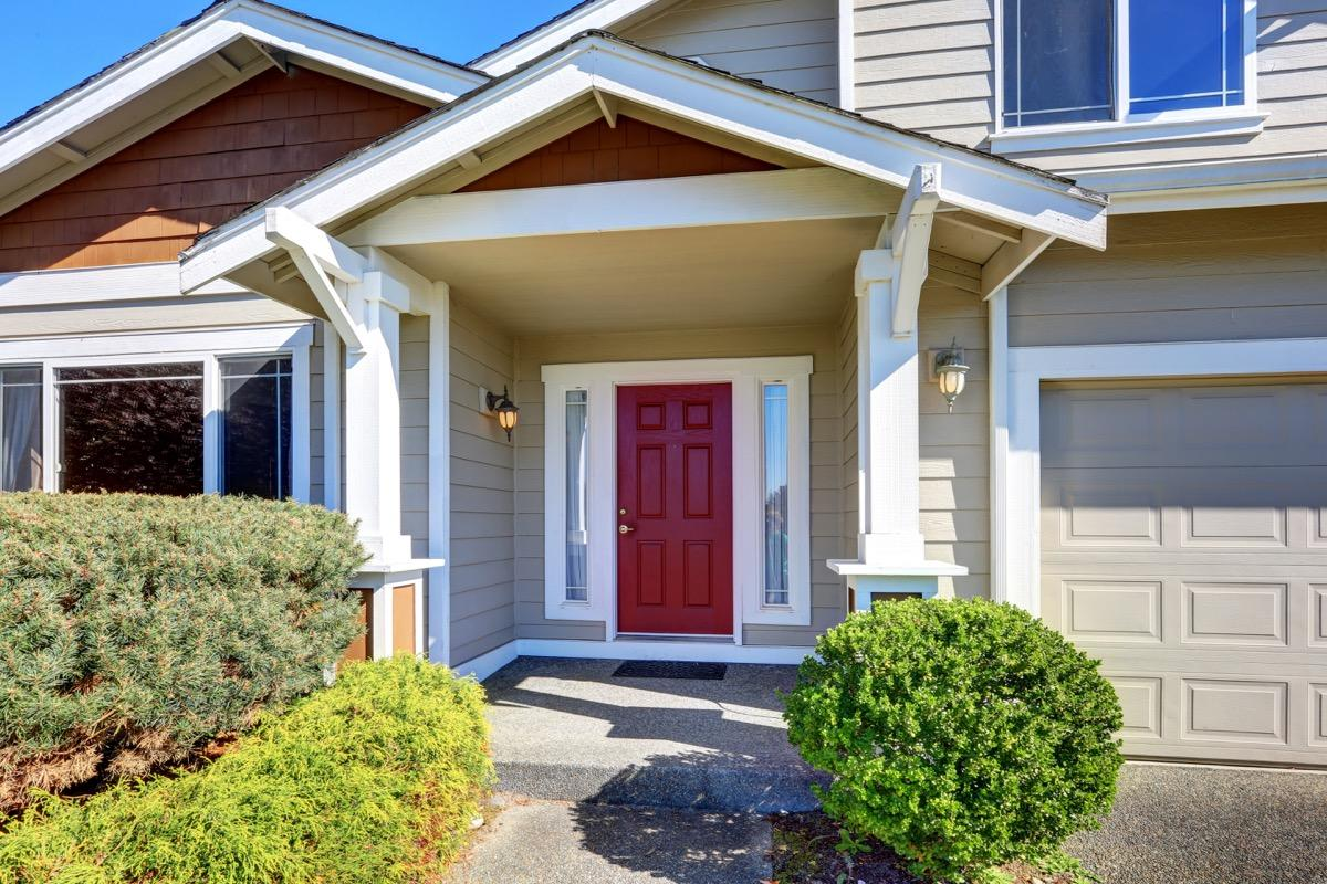 """Not only can replacing your front door give you peace of mind by making sure it's properly sealed from any upcoming winter weather, but it can also add some flair to the entrance of your home. What's more, <a href=""""https://www.remodeling.hw.net/cost-vs-value/2019/"""" target=""""_blank""""><em>Remodeling</em> magazine</a> listed steel front door replacements as one of the top energy-efficient remodeling choices for 2019. This one upgrade recoups nearly 75 percent of costs."""