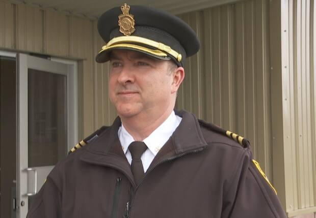 Platoon Chief Dean Foley of the St. John's Regional Fire Department says being a first responder in a pandemic has been challenging.