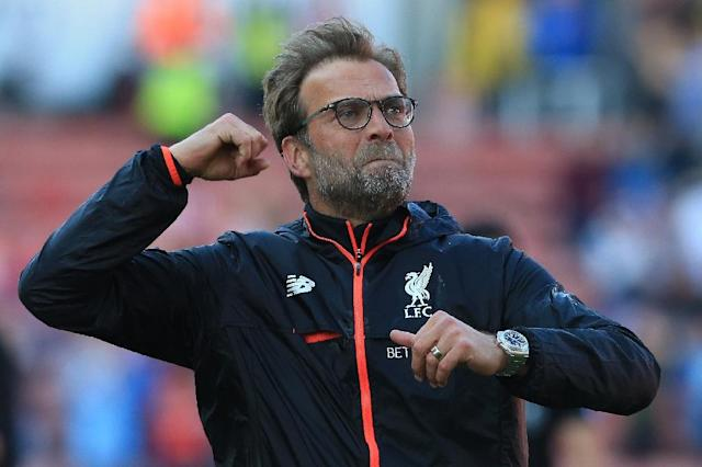 Liverpool manager Jurgen Klopp said he expected to meet a German team in the Champions League play-off round (AFP Photo/Lindsey PARNABY)