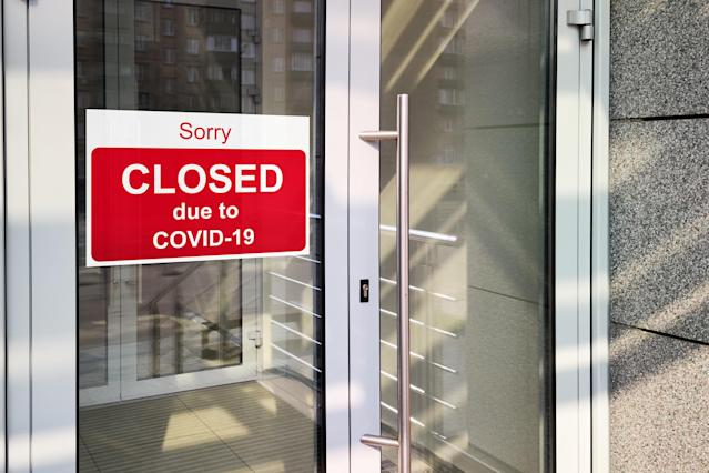 Four in ten small businesses have had to close since the beginning of the coronavirus outbreak in the UK. (Getty)