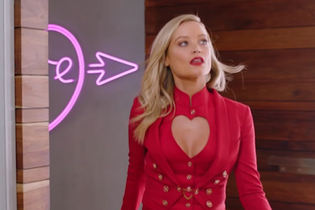 Laura Whitmore on the latest series of Love Island(ITV)